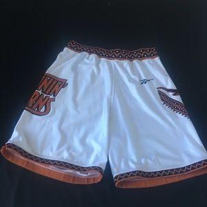 Vintage Authentic Texas Longhorns Basketbal Shorts